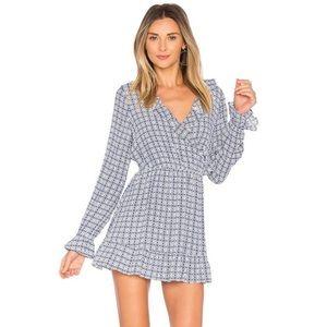 NWT Tularosa Charleston Ruffle Surplice Dress